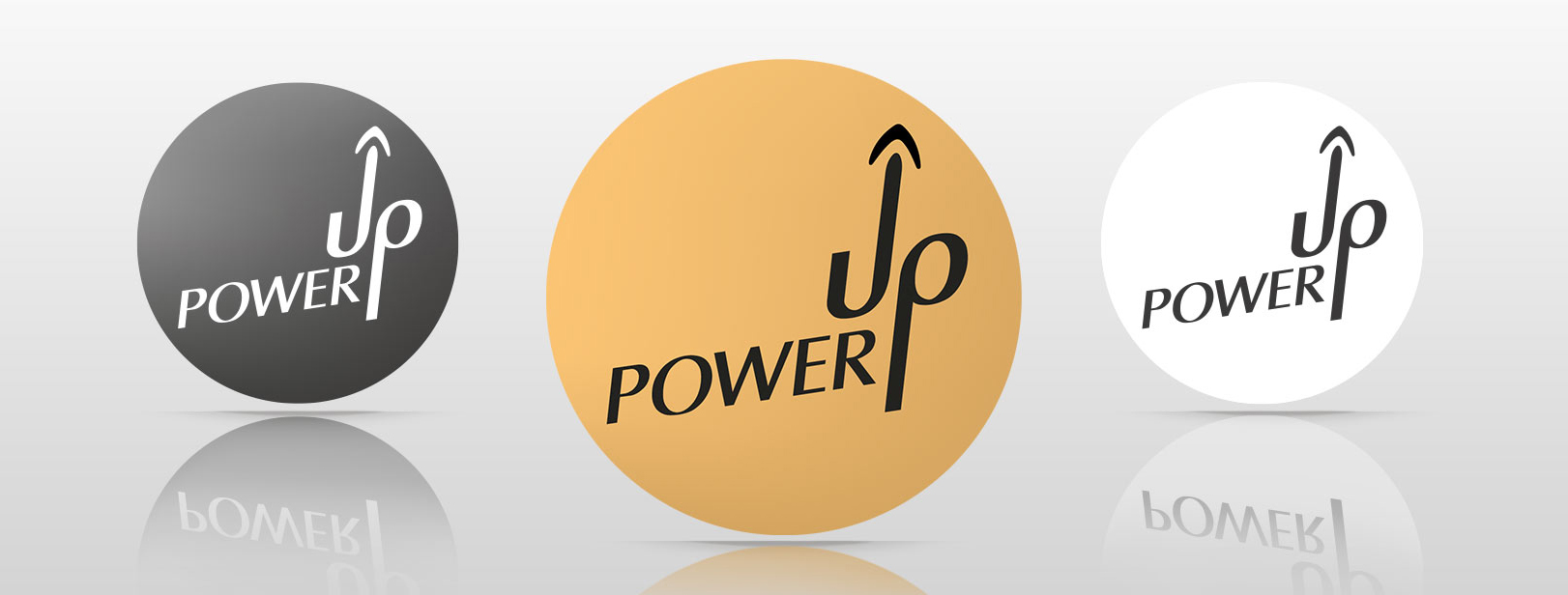 "Logoentwicklung ""Power Up"""
